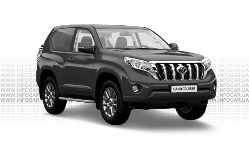 Цвета Land Cruiser Prado 150 3-х дверный