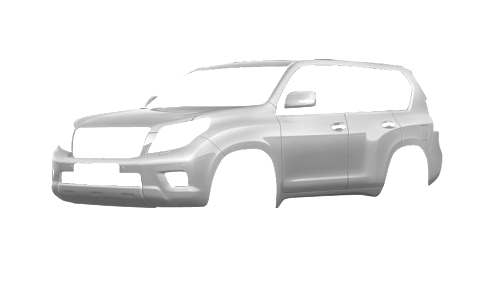 Цвета кузова Land Cruiser Prado 150